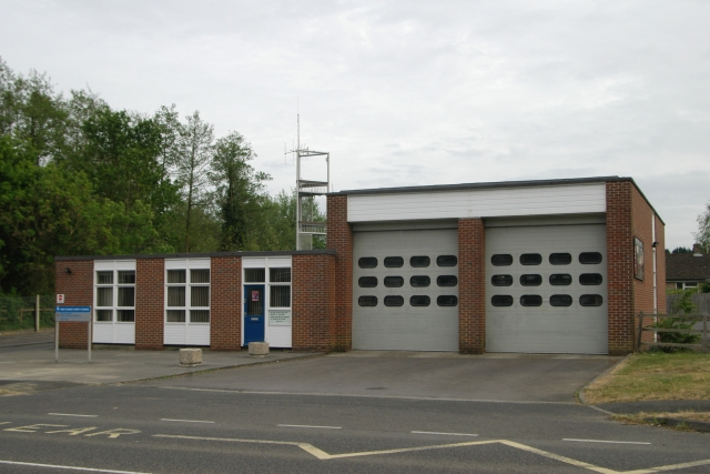 Midhurst Fire Station - photo:- Kevin Hale - 6 May, 2007  click to close